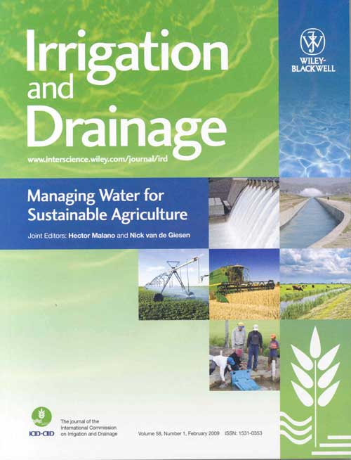 Irrigation and Drainage - ICID Journal