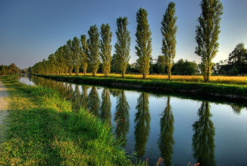 European irrigation canal