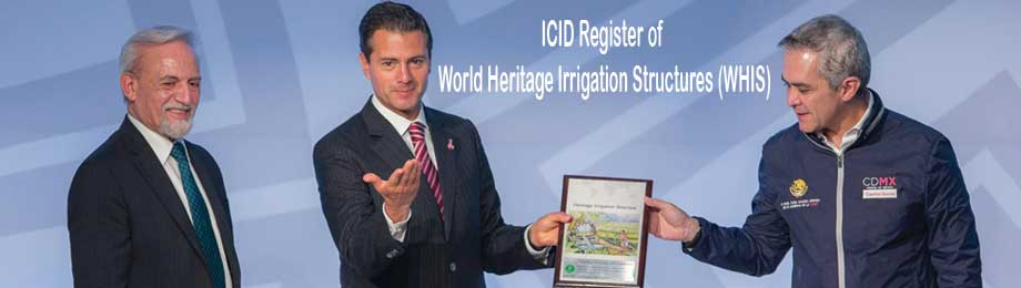 Register of ICID heritage Irrigation Structures (HIS)