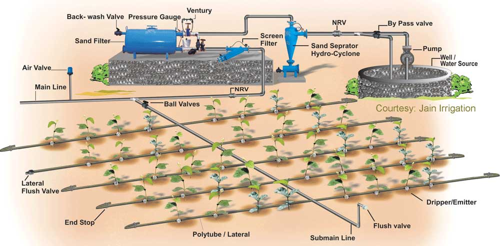 Image result for Irrigation and drainage network
